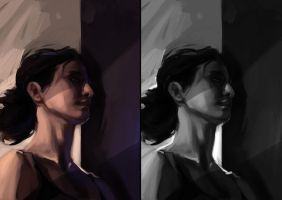 Lighting study by beiibis