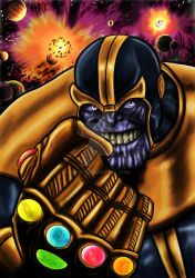 Thanos end game by nic011