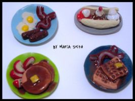 1 Details of Polymer Clay Food by chat-noir