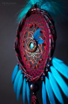 Dreamcatcher Ghost of Hakkar by miaushka-workshop