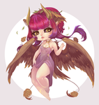 Deema - Chibi Commission by clover-teapot