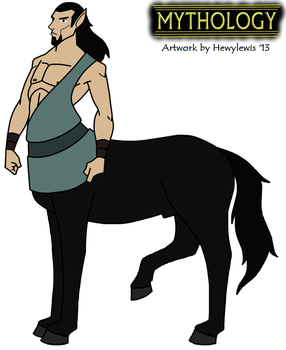 Mythology - Chiron 2013 by HewyToonmore