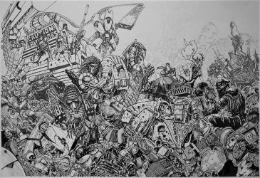 ABC Warriors - Scrap by adeh20
