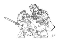 Horus Heresy - Brothers by Greyall