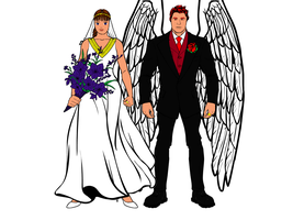 Johnny and Jessica's Big Day... by AngelGhidorah