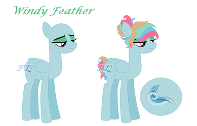 Windy Feather by PixelDrawlying