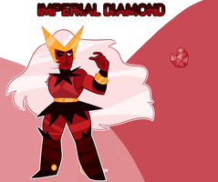 Mystery Adopt Reveal: Imperial Diamond by undercoverghost