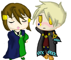 Crovix and Hace Chibis by Tennessee11741