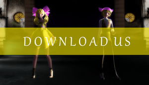 fnaf mmd dl :: male and female chica :: by atoswirl