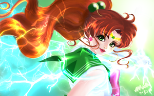 Sailor Jupiter|Makoto Kino by I-am-M-i-A