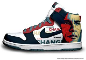 Obama Dunks by ArtisticSmitty