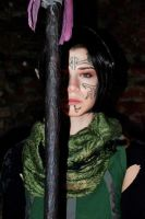 Merrill cosplay - Blood mage by Achico-Xion