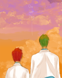 Our Last Days - Akashi and Midorima by chacocat