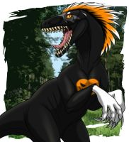 Halloween as a Raptor by Zerwolf