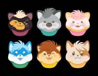 Custom Cupcake Critters! by TheOutli3R