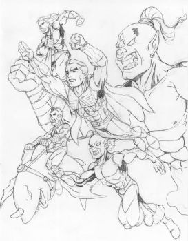 Justice League of Indonesia by irmantagart