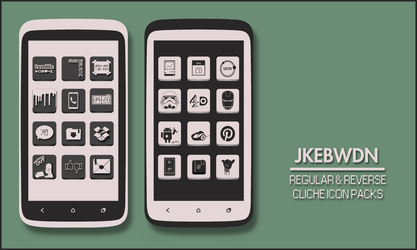 Cliche Icon Packs by jkebwdn
