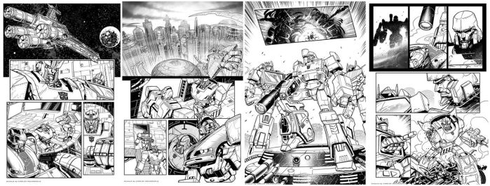 Transformers Pages by CValenzuela