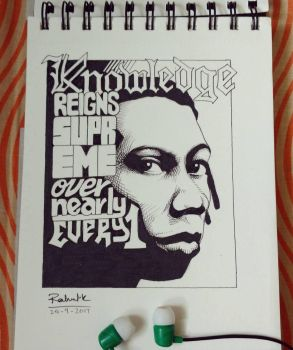 KRS-one by horizonred