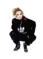 {PNG} CL of 2NE1. by VipArmy