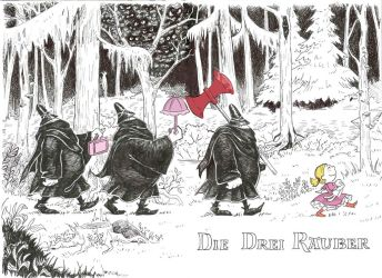 The Three Robbers by Juli556