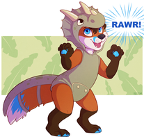 Rawr - Commission by sbneko