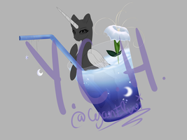Moon Flavor Drink YCH Closed by MinElvi