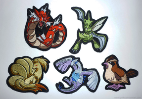SOLD OUT: Pokemon patches - batch 1