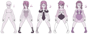 {~C~} Lilac Pearl Forms by Pepsi-Meth