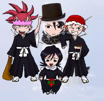Merry Christmas From Bleach by suspicious-chicken
