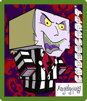 Beetlejuice Cubeecraft by angelyques