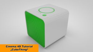 CubeThing (Cinema 4D Tutorial) by NIKOMEDIA