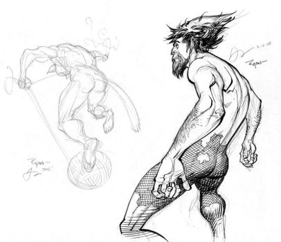 Draw Night sketches part 2 by RyanOttley