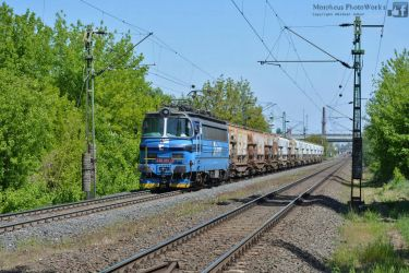 230 067 with a freight train near Gyor -2016- by MorpheusPhotoworks
