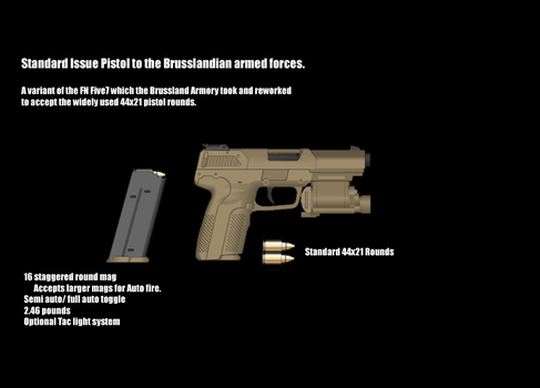Brussland Pistol by Mayanwolf