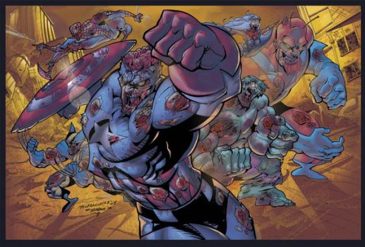 Marvel Zombies by theFranchize