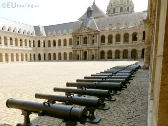 Main Courtyard at Hotel Les Invalides by EUtouring