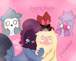 Angry birds prisma (Fanfic) by Mishayus