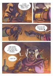 Nadar Knights - a cat story. Page 4 by Les-Chats-Nocturnes