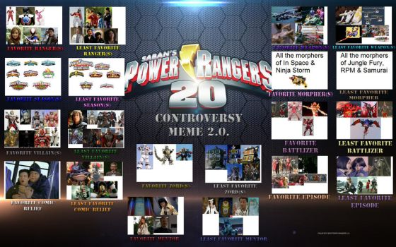 Power Rangers Controversy by JimyNawtron