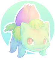 [DRAW THE POKEDEX] #002-Ivysaur by GREATLORDHELIX