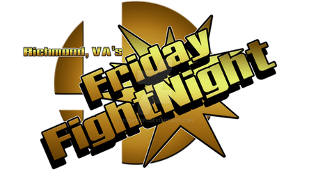 RVA's Friday FightNight Logo by Joshtrip1
