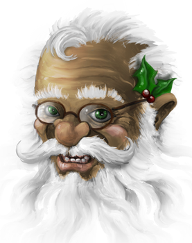 Father Christmas by lifebytes