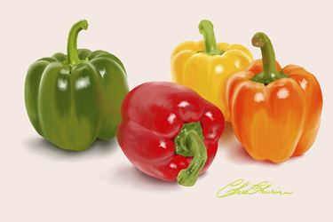 Bell Pepper by StrawberryCakeBunny