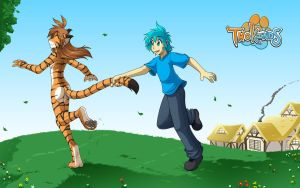 Catch a Tiger by the Tail by Twokinds