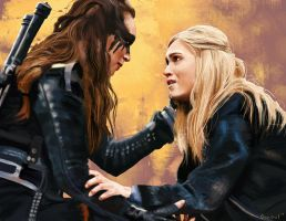 Clexa Finale by OrcaOwl