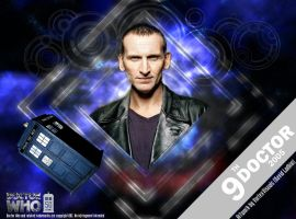 Doctor Who 50th Anniversary - The 9th Doctor by VortexVisuals