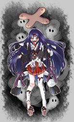 Scary Puppet OC Adoptable Auction ::CLOSED:: by Senhoshi