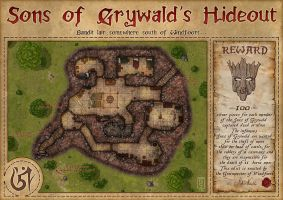 Sons of Grynwald's Hideout by TomDigitalGraphics