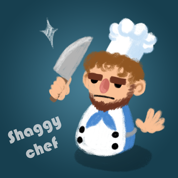 Shaggy Chef by Hesbell